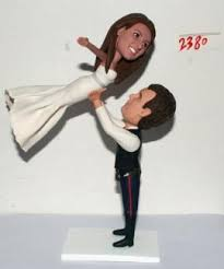 weight lifting cake topper hans lifting like cake topper 2380