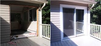 How To Install Sliding Patio Doors Sliding Patio Door Installed Full Slider Replacement With