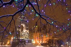 Outdoor Christmas Decorations Ottawa by Christmas Lights Across Canada To Illuminate Ottawa Gatineau