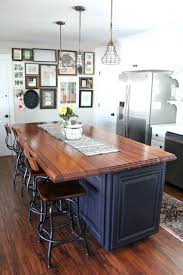 blue kitchen island blue kitchen island with butcher block top wood pictures