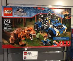 lego jurassic world jeep lego jurassic world t rex tracker 75818 photos preview bricks