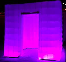 photo booth enclosure photo booth enclosure with led changing lights