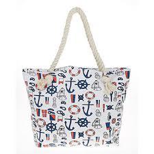 nautical tote nautical tote bag white fashion bags nauticaltotebagwhite from