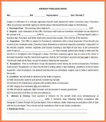 4 business purchase letter of intent template purchase