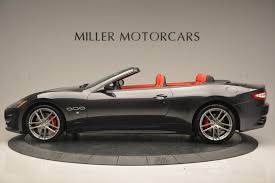 maserati bentley 2017 maserati granturismo convertible sport stock m1636 for sale