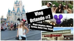 vlog orlando 2 magic kingdom winter garden dollar tree