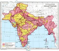 Map India India Map In 1947 Image Gallery Hcpr