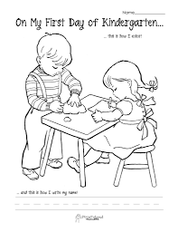 first day of preschool coloring pages fablesfromthefriends com