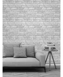 black and white wallpaper ebay white brick effect wallpaper ebay brick wall texture