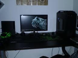Big Gaming Desk Post Your Computer Gaming Corner