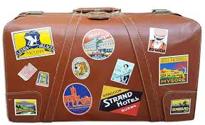 travel suitcase images Vintage luggage labels the art of the suitcase png