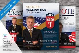 campaign flyer template political campaign poster template design