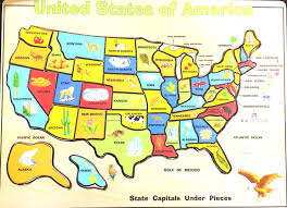 United States Map Quiz Map United States Learning Games Boaytk Usa Map 50 Puzzle At Us
