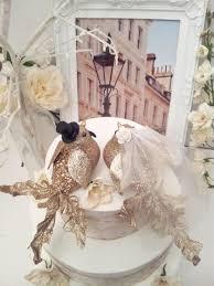 choose your head flower wedding chic elegant gold bird wedding