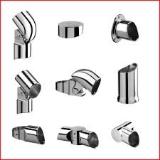 chrome banister rails fusion chrome fittings from trade stairs handrail fittings and