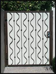 decor tips beautiful rod iron fence design with brick front entry