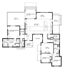 modern single story house plans contemporary house plans one story escortsea