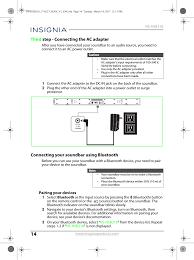 home theater adapter hsb318 soundbar home theater speaker user manual ns hsb318 17