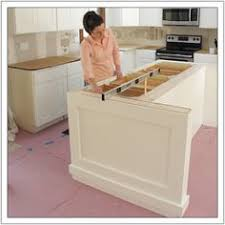 build kitchen island build a diy kitchen island build basic kitchen