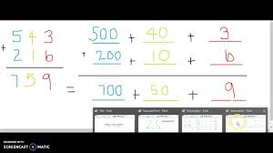 numbers in expanded form adding 3 digit numbers in expanded form