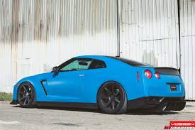 nissan gtr matte black gold rims defying the usual notion mesmerizing blue nissan gt r built by