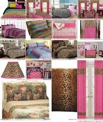 cheetah animal print bedding sets for girls with image