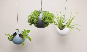 modern hanging planters hanging planter set 2 piece groupon goods