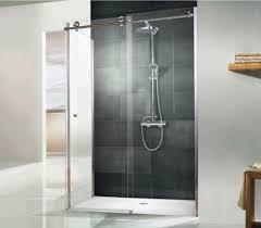 1000 Sliding Shower Door Hsk Regency Single Slider Shower Door With Side Panel 1000 X 800mm