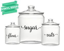labels for kitchen canisters custom canisters etsy