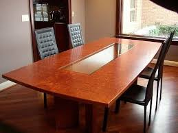 burl wood dining room table hand crafted burlwood dining table by mark wilson furniture