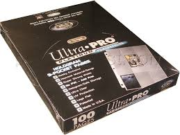 9 pocket pages ultra pro plat 9 pocket pages 1000 pages potomac