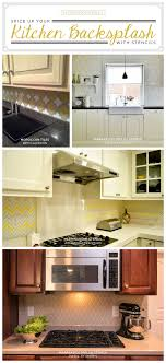 kitchen backsplash ideas diy spice up your kitchen backsplash with a stencil stencil stories