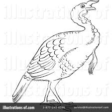 turkey bird clipart 1127759 illustration by picsburg