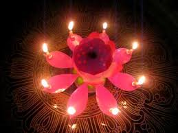 spinning birthday candle jplushies rotating flower musical candle sle