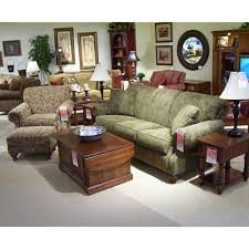 king hickory leather sofa king hickory 4200 rolled arm and back sofa with nail head trim