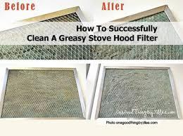 how to clean range hood filters best hood 2017