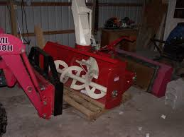 farm king snow blowers