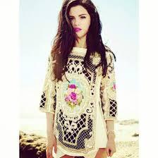 selena gomez sweater sweater selena gomez flowers fashion beautiful baroque