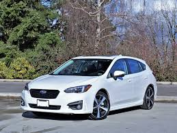 subaru sti 2017 2017 subaru impreza sport tech 5 door road test carcostcanada