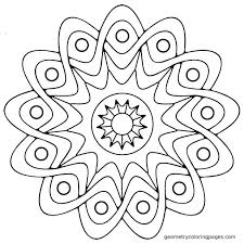 coloring pages easy mandalas to color easy mandala coloring