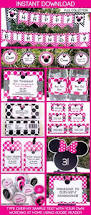 minnie mouse party invitations template u2013 pink minnie mouse