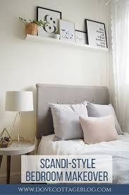 scandi style box room makeover dove cottage