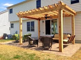 How To Make A Pergola by Very Cool Deck Pergola U2014 All Home Design Ideas