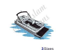 pontoon boat etsy