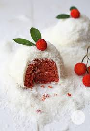 Natural Red Velvet Cake Or Snowballs Using No Food Coloring