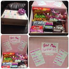 new mom survival kit great diy baby shower gift for first time