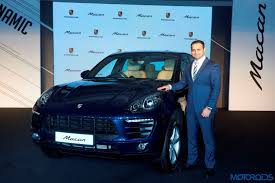 porsche macan 2016 blue porsche macan 2 0 litre petrol launched in india for inr 76 84 000