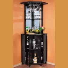 Compact Bar Cabinet Corner Bar Cabinet Wine Rack Wooden Corner Bar Review Buy
