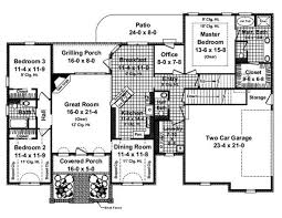 split level house plan traditional house plans home design 1955