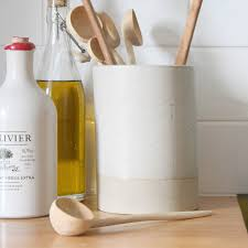 kitchen utensil canister ceramic utensil holder for kitchen home design